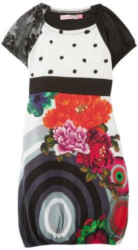 In Offerta! #Offerte Abbigliamento#Buoni Regalo   #Outlet Desigual Curcu - Vestito, bambina, Bianco (Weiß (Blanco)), 152 cm disponibile su Kellie Shop. Scarpe, borse, accessori, intimo, gioielli e molto altro.. scopri migliaia di articoli firmati con prezzi da 15,00 a 299,00 euro! #kellieshop #borse #scarpe #saldi #abbigliamento #donna #regali