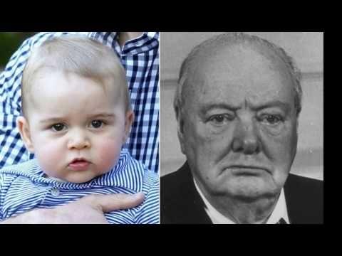 Showbiz Gossip: Prince George son of Prince William looks like Win...