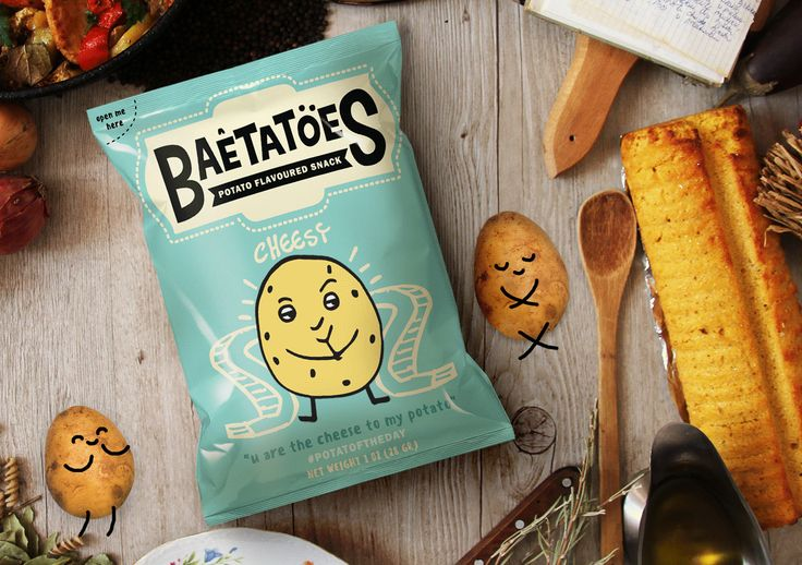 BAETATOES on Behance