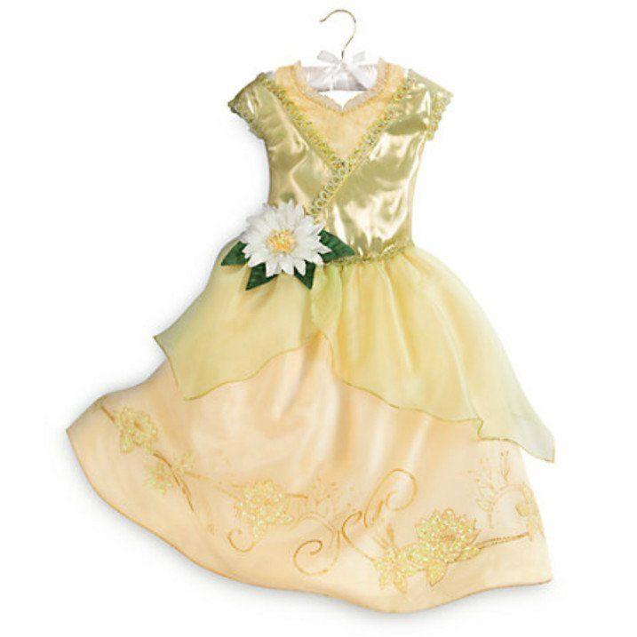 Disney Tiana Fancy Dress Costume