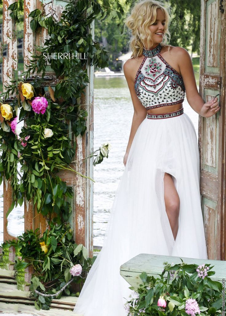 228 best two piece dresses images on pinterest. Black Bedroom Furniture Sets. Home Design Ideas