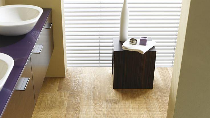 HARO Leitmotiv - un plancher en bois dans la salle de bain ? Naturellement - Parquet HARO Spa !