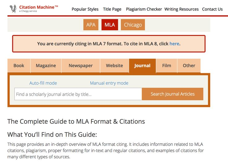 Generate a Bibliography, In-Text Citations or Other Elements in APA Style!
