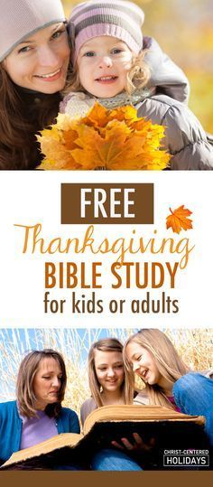 Looking for free thanksgiving Bible lessons for your kids? You'll love this awesome free 5-Day Bible study for kids or adults! Use this Thanksgiving Bible lesson as part of your family Bible time or fall family activities! What a great way to teach kids a