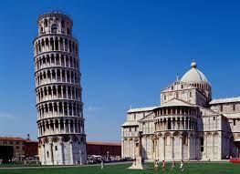 a torre inclinada de pisa