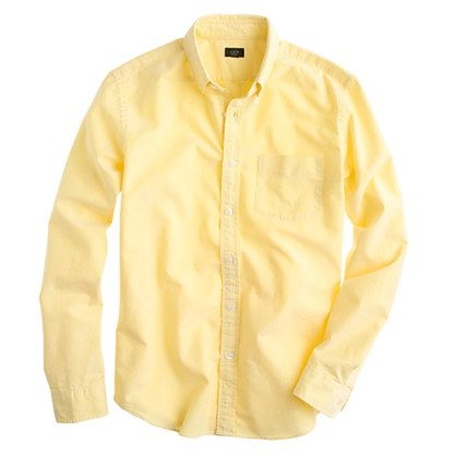 Vintage oxford shirt - oxford shirts - Men's shirts - J.Crew