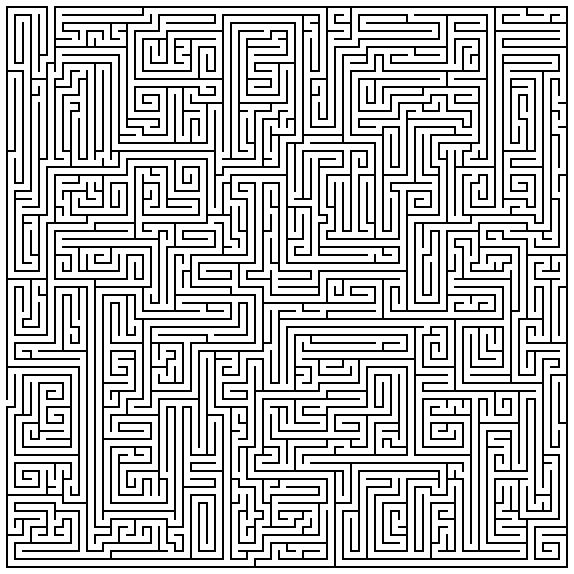 Maze Maker...punch in how big you want it and it generates a maze that you can print out