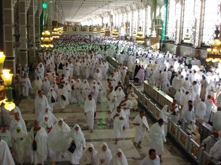 Masjid Al Haram in Makkah - Saudi Arabia (Safa and Marwa Hills)