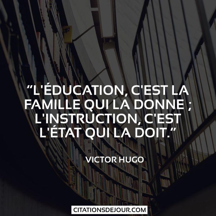 OK pour l'éducation que la famille doit donner , OK pour l'instruction dont l'état doit mettre en place les infrastructures et le personnels enseignants .. Mais le boulot et le suivis appartiendront toujours à l'individu concerné et à sa famille qui ne doit pas attendre que l'état inculque des valeurs de travail et de sérieux à leurs enfants..Ils les ont fait...Ils les gèrent et assument jusqu'au bout  et Woui Woui  c'est pas autrement !!!