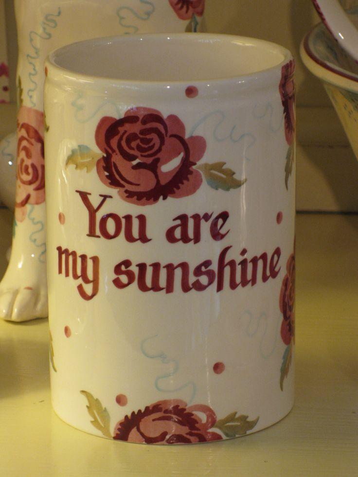 Emma Bridgewater ROSE & BEE personalised medium vase, 2014