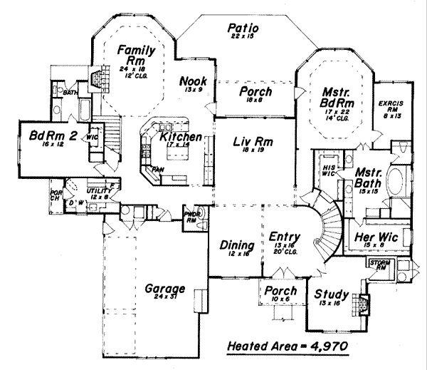 Best Dream Home Floor Plans Images On Pinterest Home House