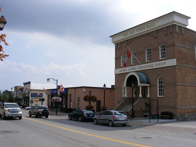 #Markham's old town hall on Main Street. #Ontario #Canada
