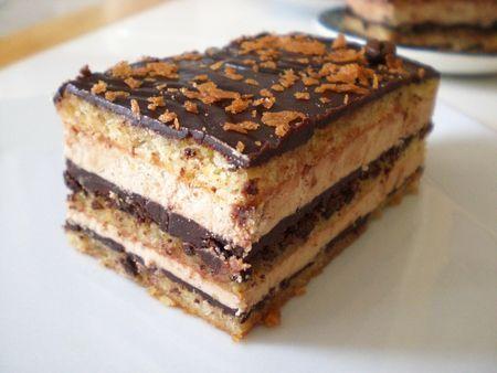 Dessert Léger et Rapide, OPERA   Ce Dessert Léger et Rapide est un grand classique des pâtissie...