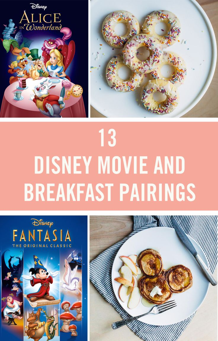 13 Disney Movie and Breakfast Pairings to Make Your Day Magical
