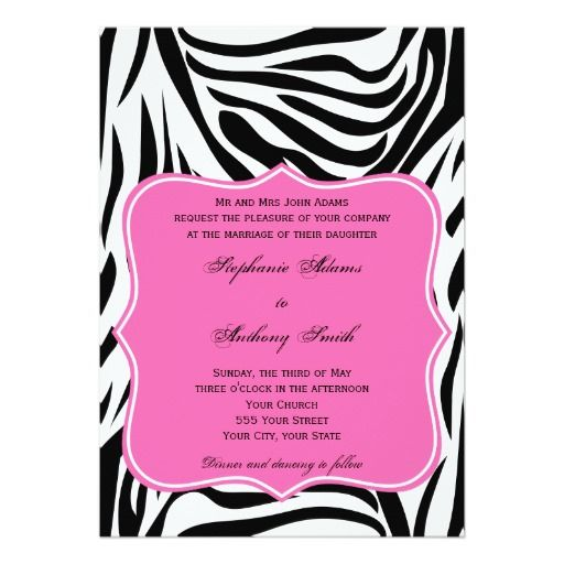 423 besten Pink Wedding Invitations Bilder auf Pinterest