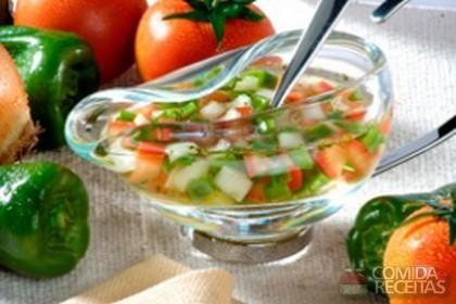 Receita de Vinagrete especial em receitas de saladas, veja essa e outras…