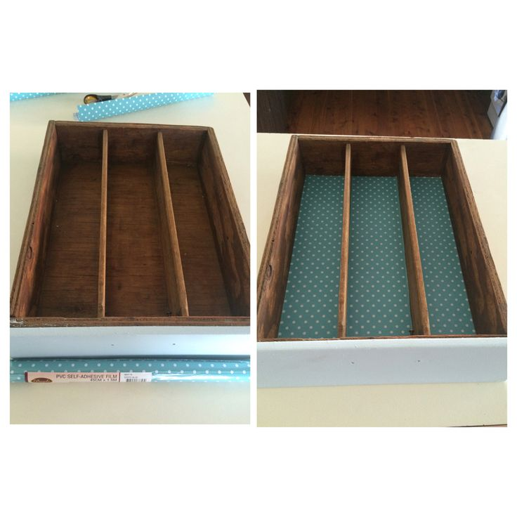 New drawer liners