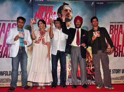 'Bhaag Milkha Bhaag' Movie Trailer & Music Launch