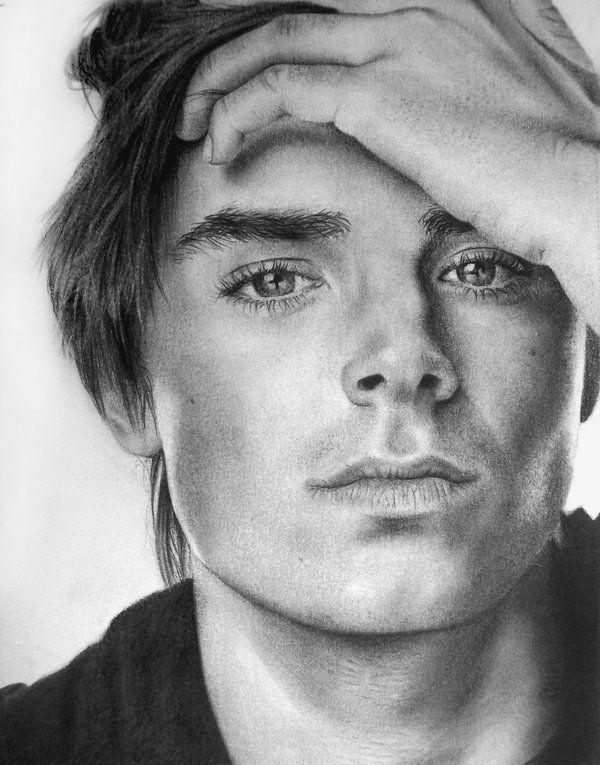 zac efron drawings deviantart pencil portrait highschoolmusical explore
