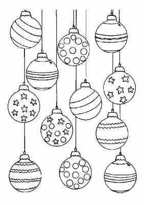Best Drawing Christmas Ornaments Coloring Pages 68+ Ideas