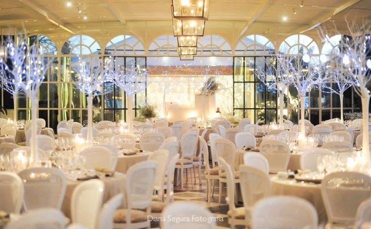 Una boda de invierno con carpa blanca. www.bc-carpas.com