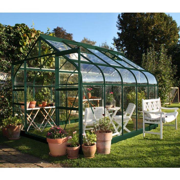 24 best images about abris de jardin pergolas serres on for Serre de jardin outiror