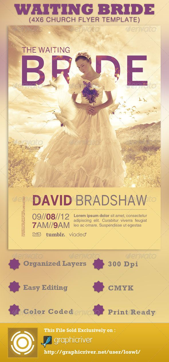 1000 images about invitations on pinterest 50th for Free church flyer templates photoshop