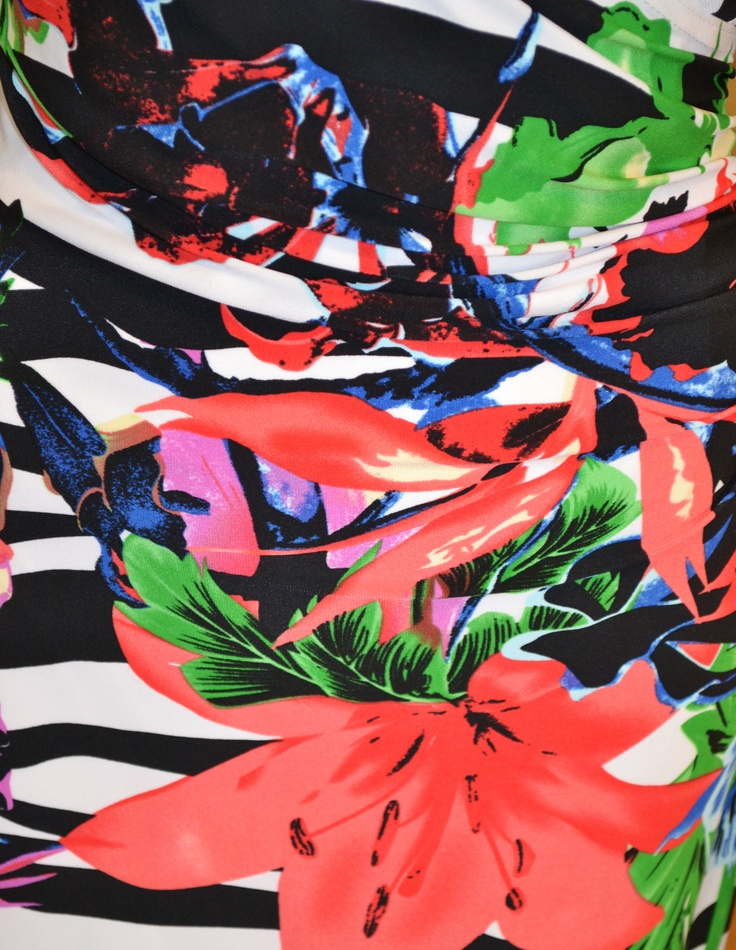 Joseph Ribkoff - Jazzy Floral Dress