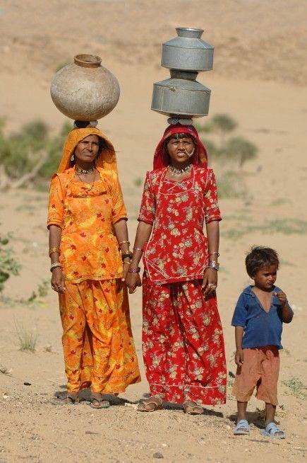 Thar desert near Jaisalmer, India,