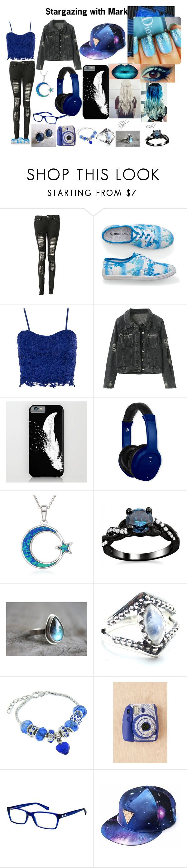 """Stargazing with Markiplier"" by puppylover32203 on Polyvore featuring Boohoo, maurices, Dorothy Perkins, Vivitar, La Preciosa, Child Of Wild, Eternally Haute, Fujifilm and Armani Exchange"