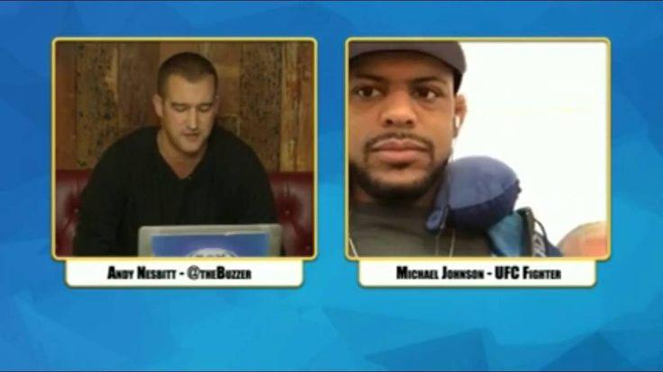 Michael Johnson Interview - Wants Nate Diaz Rematch, KOing Poirer, Makin...