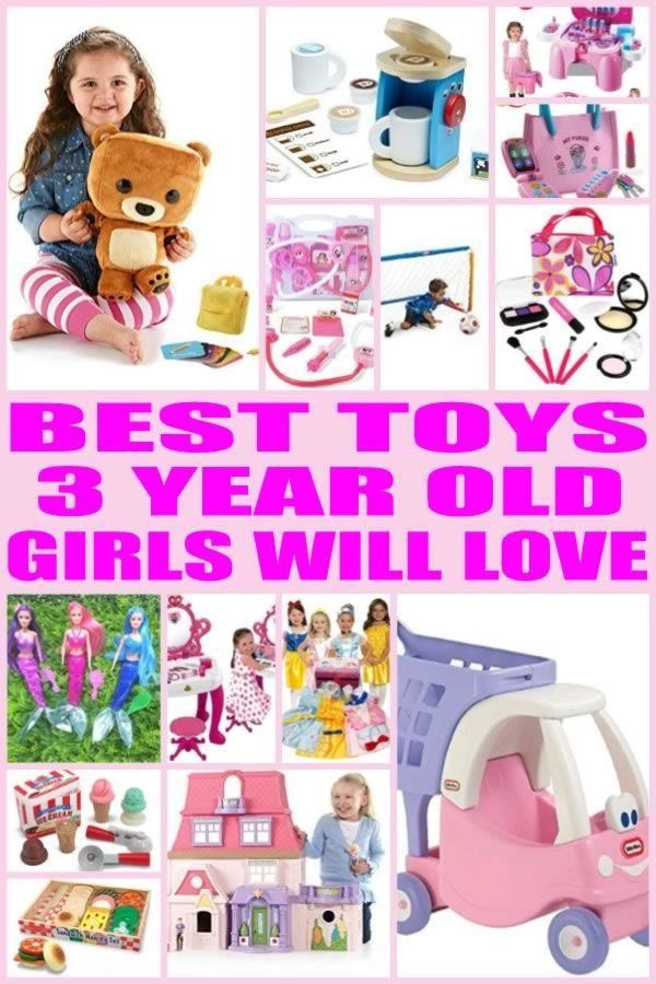7c6461b440a Find the best toy gifts for 3 year old girls! Kids would love any of these  toys from this ultimate toy gift guide. Find the best toys perfect for three  year ...