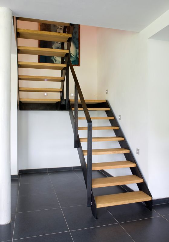 25 beste idee n over metalen trap op pinterest trap for Metalen trap maken