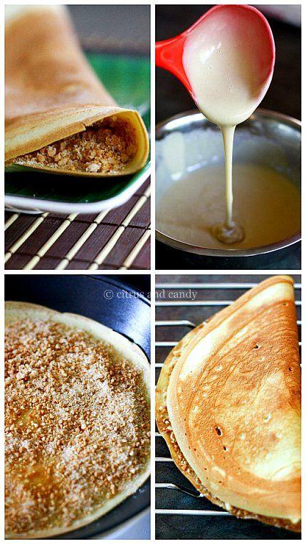 Apam Balik (Malaysian Peanut Pancakes) - Citrus and Candy