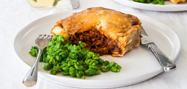 Food   Recipe   Bolognaise Pies - Food & recipes - Recipes - New Zealand Woman's Weekly