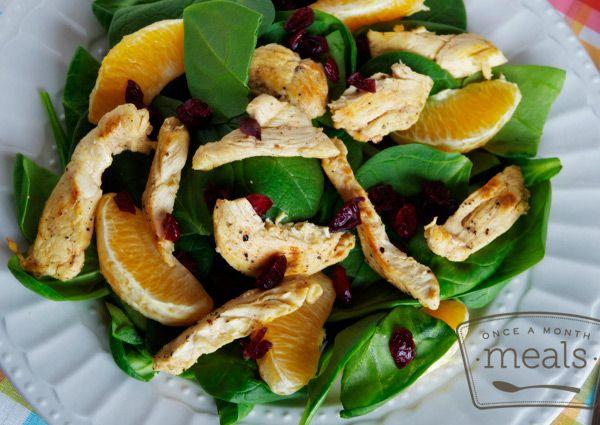 Citrus Chicken Salad Strips