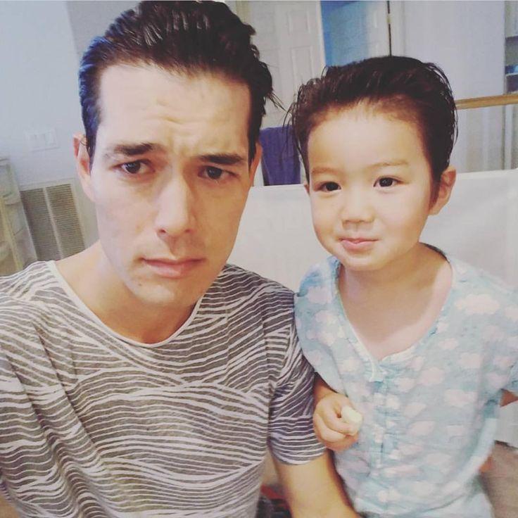Asherrrrr 😍 #likefatherlikeson Cr. Ricky Kim
