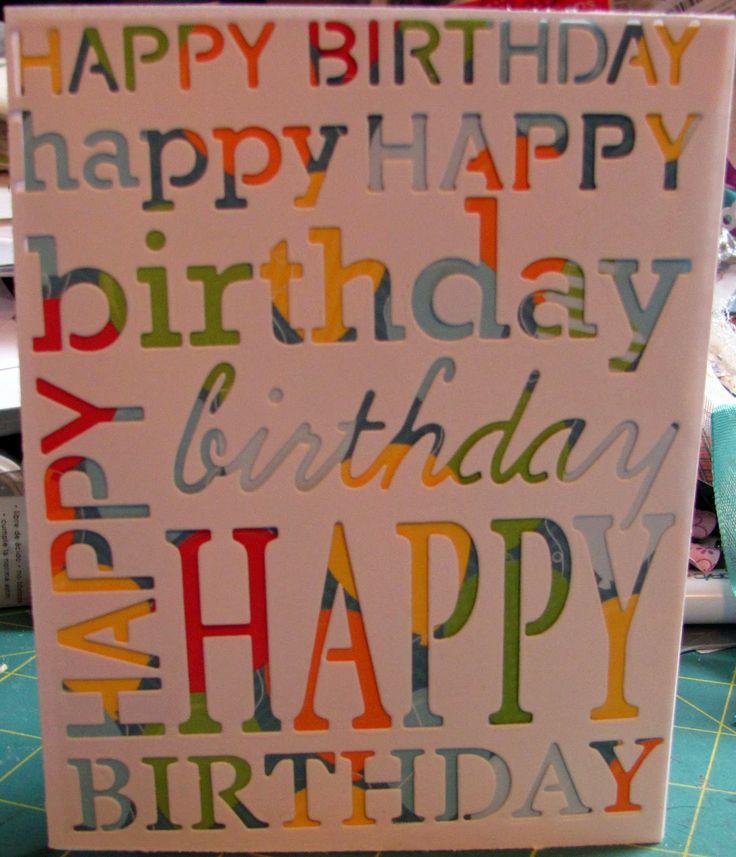 Poppy Stamps Grand Happy Birthday