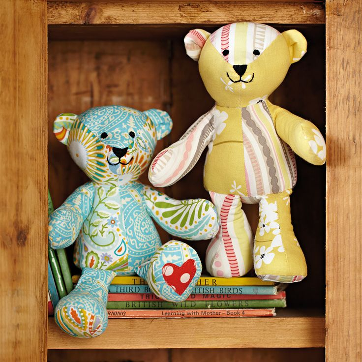 Sewing pattern for teddy bear
