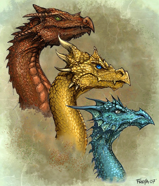 Different types of dragons in mythology