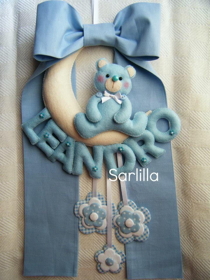 - Il blog di SARLILLA -: Fiocco nascita per Leandro