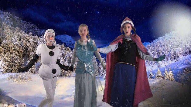 Hannah Alana And Ari Disney Frozen Sing Your Heart