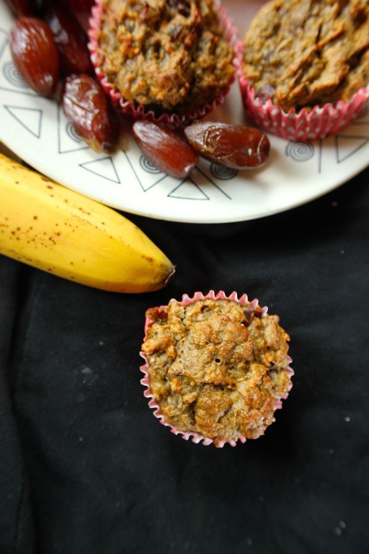 Suikervrije Banaan Zoete Aardappel Muffins | De Bakparade De Bakparade