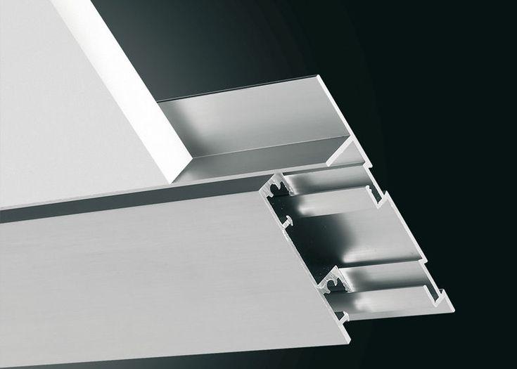 Aluminium baseboard - PLANO BF - PROFILITEC