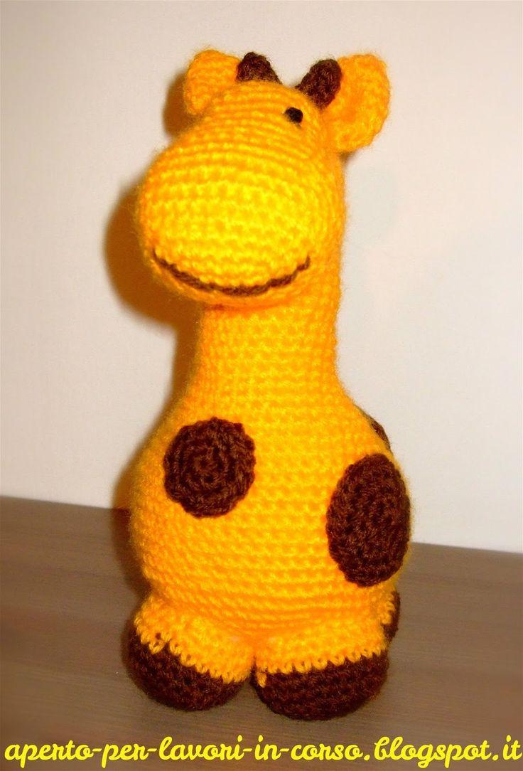 78 migliori idee su Giraffa Uncinetto su Pinterest ...