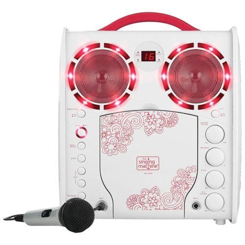The Singing Machine Cd+g Karaoke Player (pink)