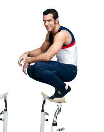 US Olympic Men's Gymnast Danell Leyva