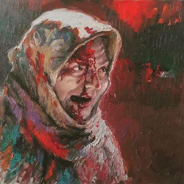 Mona Liza Aleppo  #حلب_تحترق #AleppoIsBurning #AssadKillsSyrianChildren #RussiaKillsSyrianChildren #ObamaKillsSyrianChildren