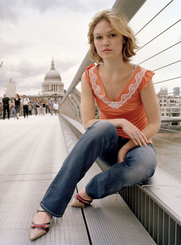 "Julia Stiles by Ophelia Wynne (2004) Inspiration for Polly in ""Maybe Baby"" -- Ashlinn Craven 2014"