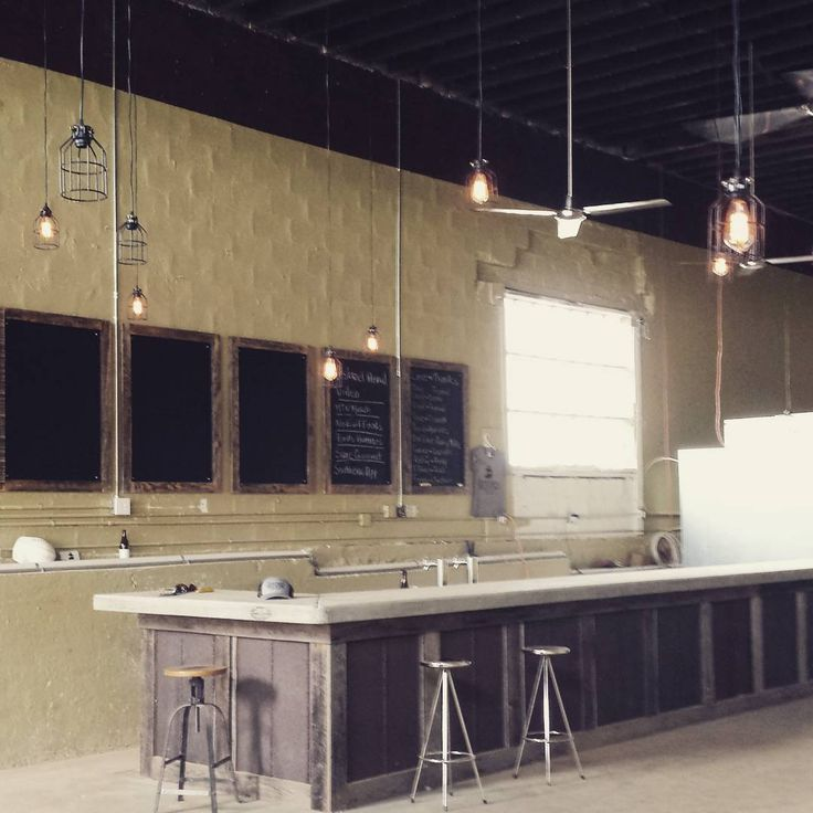 Custom Bar At Sanctuary Brewing Company In Hendersonville NC